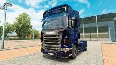 Скин Blue Smoke на тягач Scania