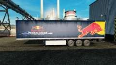 Скин Red Bull на полуприцеп