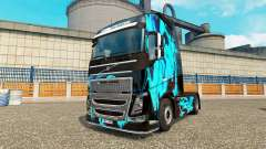 Скин Green Smoke на тягач Volvo