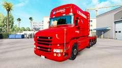 Скин A. Krabbendam на тягач Scania T