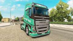 Скин Road King на тягач Volvo