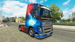 Скин Galaxy на тягач Volvo