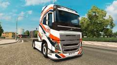Скин JST Services на тягач Volvo