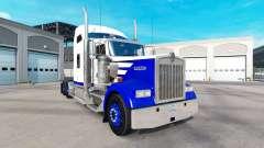Скин Blue Spike на тягач Kenworth W900