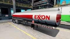 Логотипы топливных компаний на полуприцепах