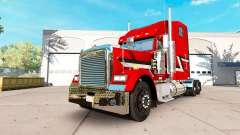 Скин Metallic на тягач Freightliner Classic XL