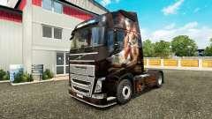 Скин Egypt Queen на тягач Volvo