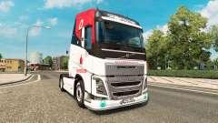 Скин Vodafone Racing на тягач Volvo