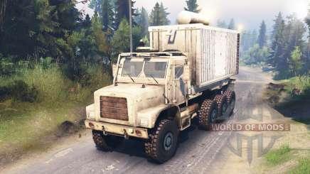 Oshkosh MTVR LHS 8x8 для Spin Tires