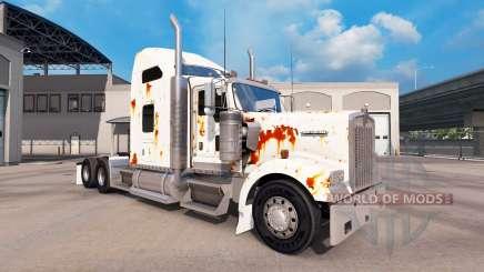 Скин Rusty на тягач Kenworth W900 для American Truck Simulator