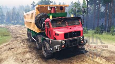 Oshkosh M1050 для Spin Tires