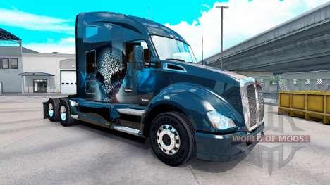 Скин XCOM2 на тягач Kenworth для American Truck Simulator