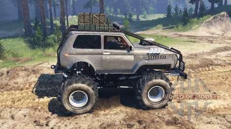 Урал Нива для Spin Tires