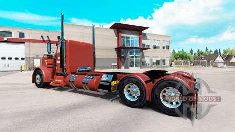 Скин Hawk Hauling на тягач Peterbilt 389 для American Truck Simulator