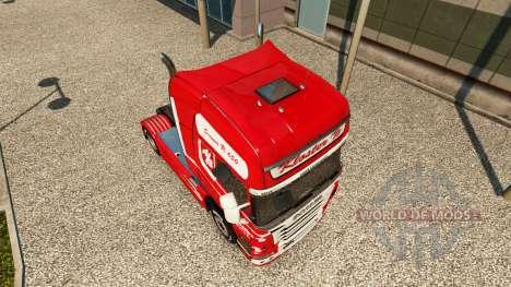 Скин Kloster на тягач Scania для Euro Truck Simulator 2