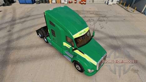 Скин Freightlines на тягач Kenworth для American Truck Simulator