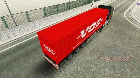 Полуприцеп VOS для Euro Truck Simulator 2
