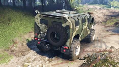 ГАЗ-2975 Тигр v3.0 для Spin Tires
