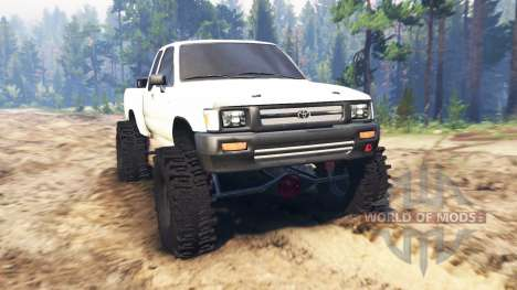 Toyota Hilux Extra Cab 1994 для Spin Tires