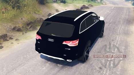 Audi Q7 v2.0 для Spin Tires