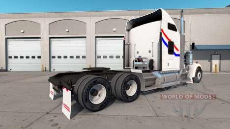 Скин Bicentennial VIT на тягач Kenworth W900 для American Truck Simulator