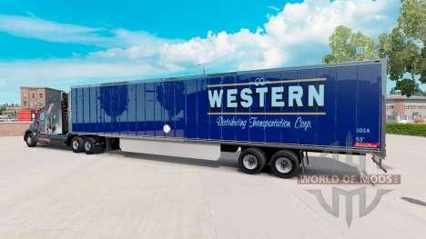 Скин Western на полуприцеп для American Truck Simulator