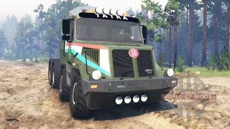 Tatra 163 Jamal 8x8 для Spin Tires