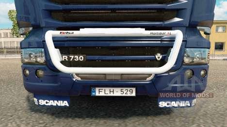 Тюнинг на Scania Streamline для Euro Truck Simulator 2