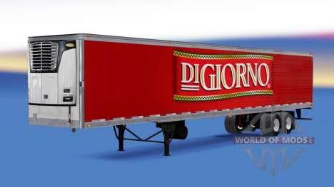 Рефрижераторный полуприцеп DiGiorno для American Truck Simulator