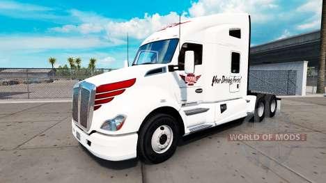Скин Keystone Western на тягач Kenworth для American Truck Simulator