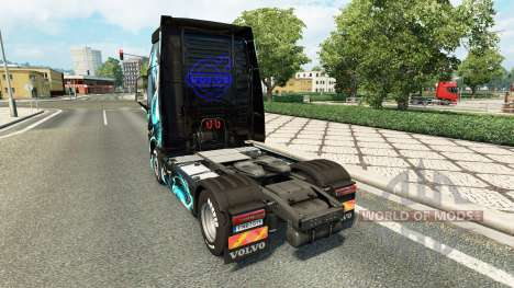 Скин Dragon на тягач Volvo для Euro Truck Simulator 2