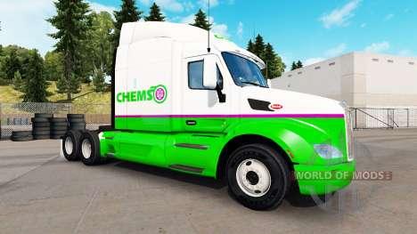 Скин Chemso на тягач Peterbilt для American Truck Simulator