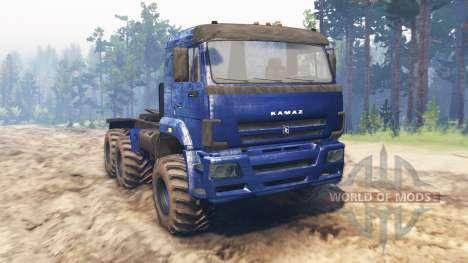 КамАЗ-65116 для Spin Tires