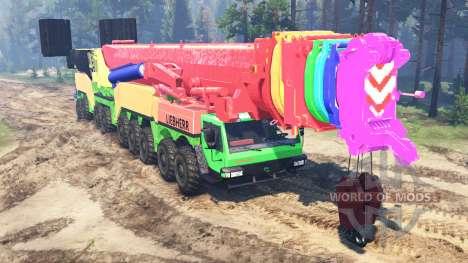 Liebherr LTM 11200-9.1 для Spin Tires