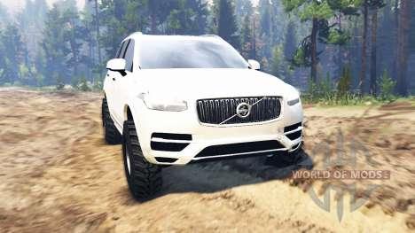 Volvo XC90 для Spin Tires