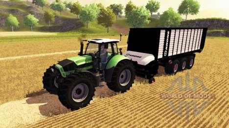 Krone ZX 550 для Farming Simulator 2013
