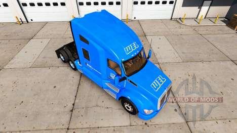 Скин WEL на тягач Kenworth для American Truck Simulator