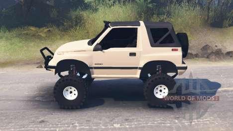 Suzuki Sidekick для Spin Tires