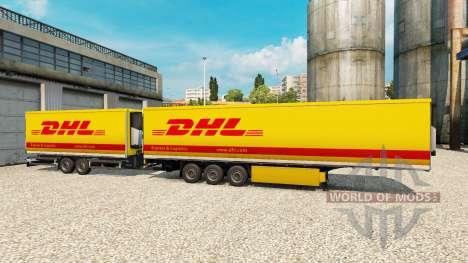 Полуприцепы Krone Gigaliner [DHL] для Euro Truck Simulator 2