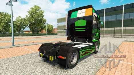 Скин Guinness на тягач Scania R700 для Euro Truck Simulator 2