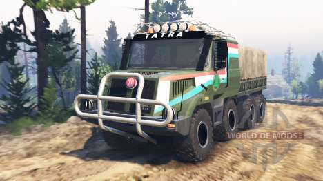 Tatra 163 Jamal 8x8 [update] для Spin Tires