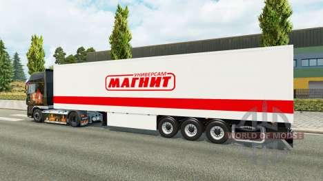 Полуприцеп Магнит для Euro Truck Simulator 2