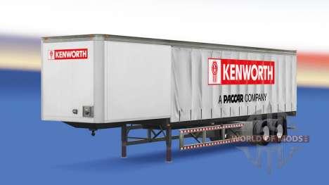 Шторный полуприцеп Kenworth для American Truck Simulator