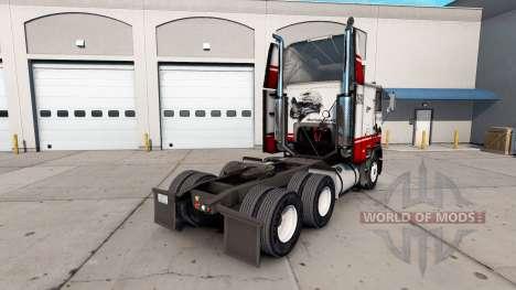 Скин Silver Eagle на тягач Freightliner FLB для American Truck Simulator