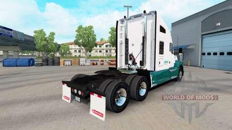Скин Mascaro Trucking на тягач Kenworth для American Truck Simulator