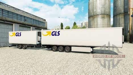 Полуприцепы Krone Gigaliner [GLS] для Euro Truck Simulator 2