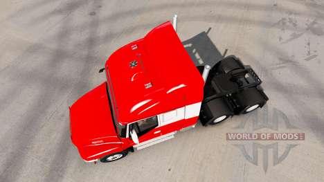 Iveco Strator 6x6 для American Truck Simulator