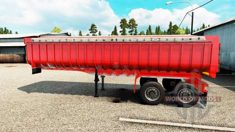 Полуприцеп самосвал для Euro Truck Simulator 2