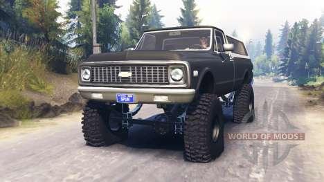 Chevrolet K5 Blazer 1972 для Spin Tires