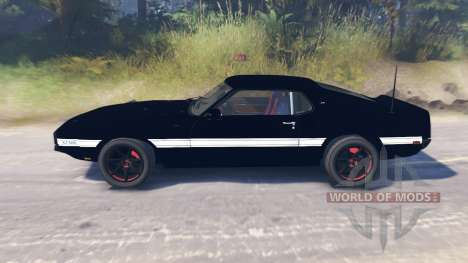 Ford Mustang Shelby GT500 1969 для Spin Tires